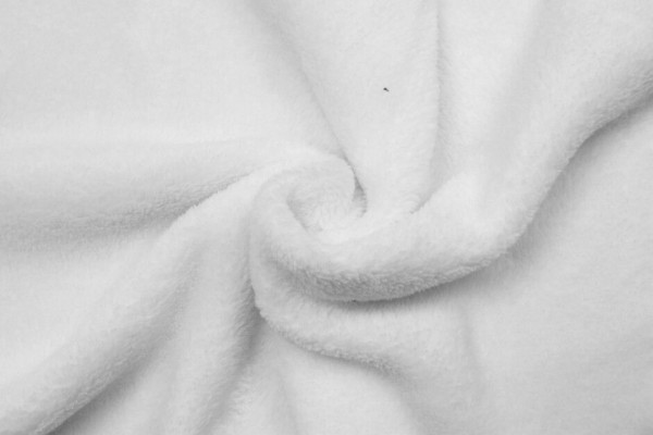 Wellness Fleece-Struppy-Weiß