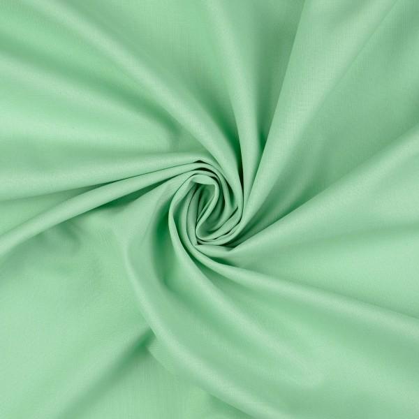 Baumwolle-Fahnentuch-Petra-Pastellgrün