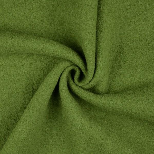 Walkloden-Laura-Walkstoff-100 % Wolle-Grasgrün