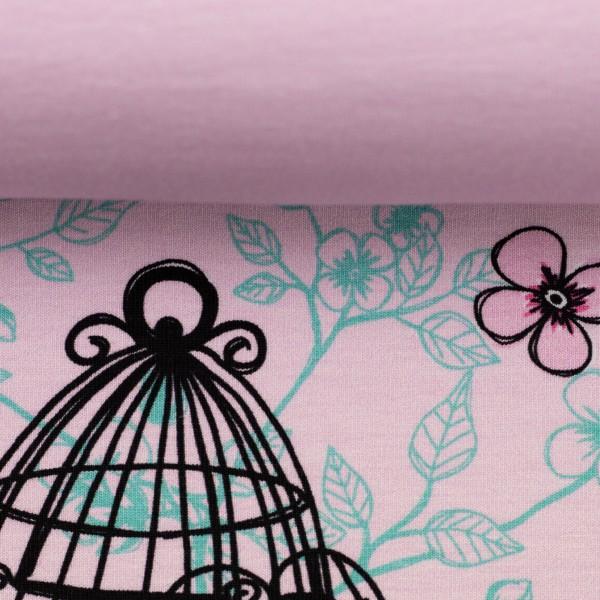Jersey-Vogel im Käfig-Panel