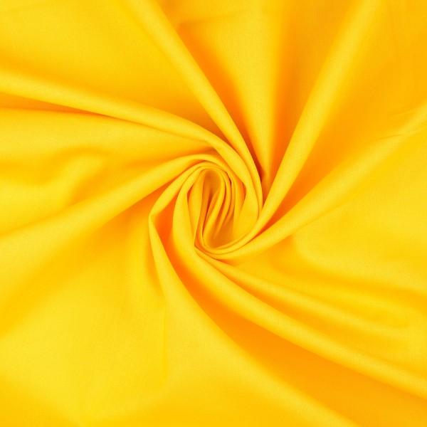 Baumwolle-Fahnentuch-Petra-Gelb