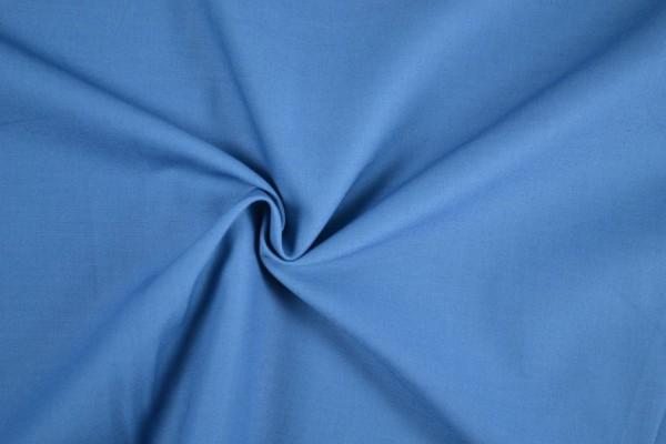 Baumwolle-Fahnentuch-Petra-Babyblau