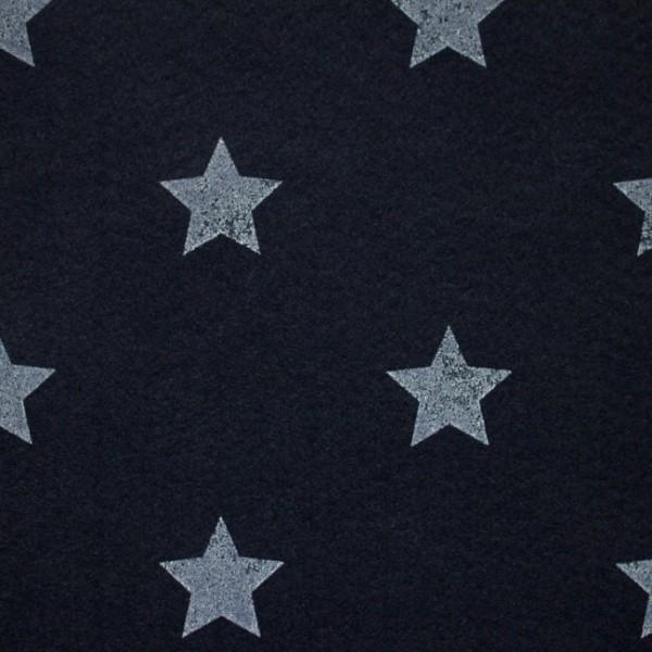 3,0 mm Filz-Stars-90 cm breit-Dunkelblau