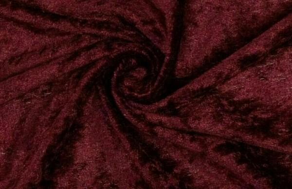 Pannesamt-Harry-Bordeauxrot