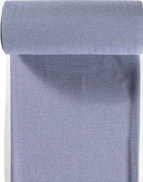 Bündchen-Steffi-35er Schlauch-Streifen-Indigoblau