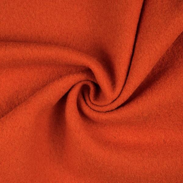 Walkloden-Laura-Walkstoff-100 % Wolle-Orange