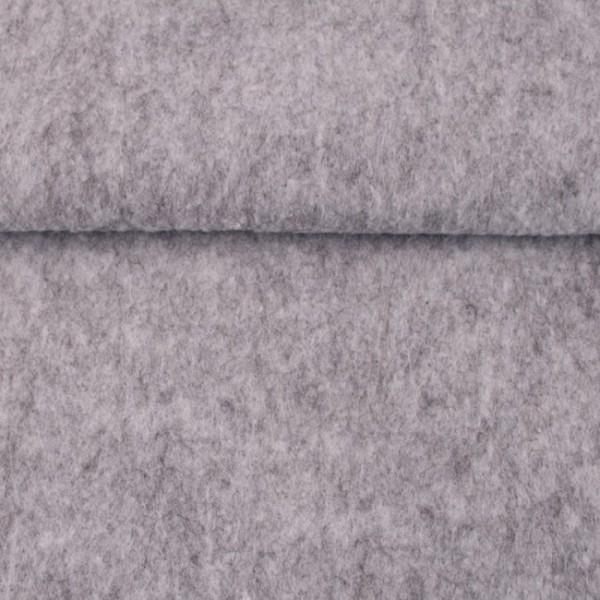 1,5 mm Filz-Kerstin-20 cm x 30 cm Platten-Hellgrau meliert