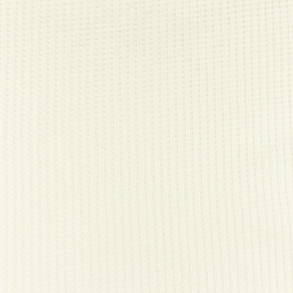 Waffel-Jersey-Snoozy-Off Weiß