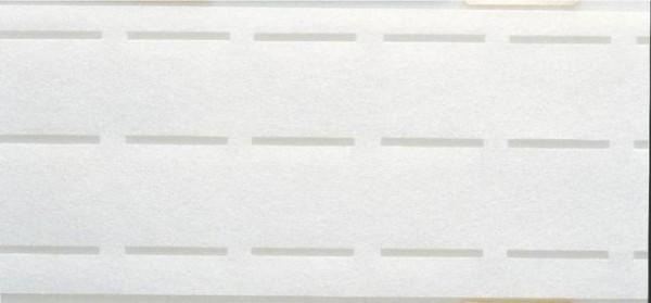 Bund-Vlies perforiert, 25mm, weiß