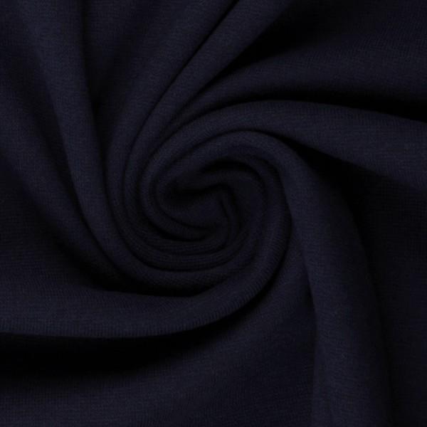 Bündchen-Heike-50er Schlauch-glatt-Nachtblau