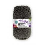 Woolly Hugs-Frottee-Schwarz