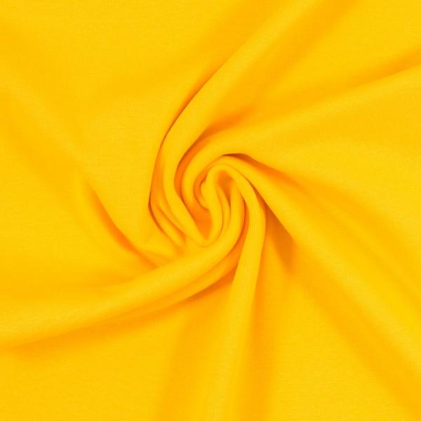Bündchen-Heike-50er Schlauch-glatt-Gelb