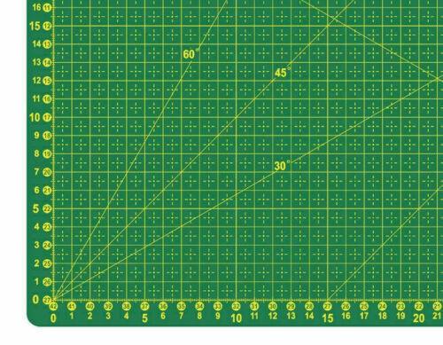 Schneidematte-60 cm x 45 cm-Grün