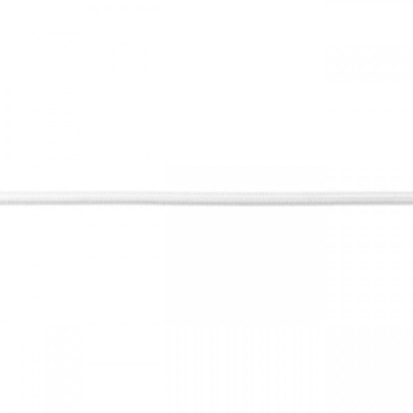 Gummikordel-5 mm-Off Weiss