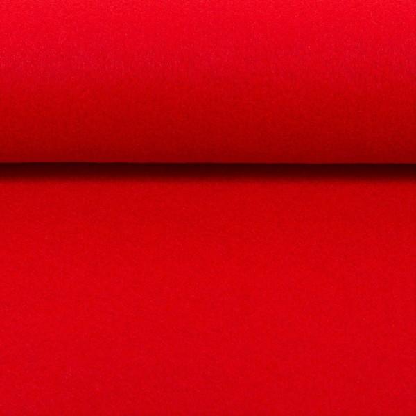 5,0 mm Filz-Carsten-22 cm x 25 cm Platten-Rot