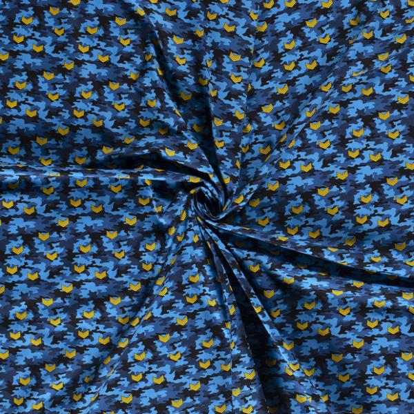 Baumwolle-Air Force-Blau