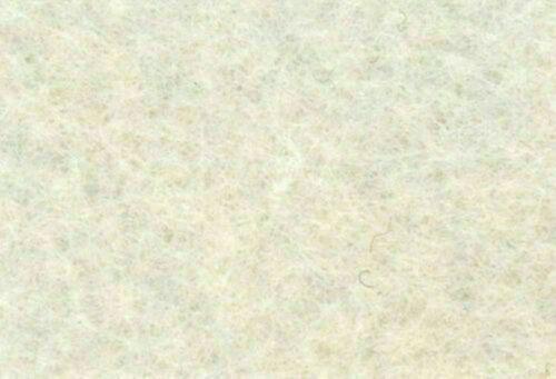 1,5 mm Filz-Kerstin-45 cm breit-Creme