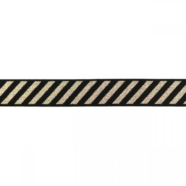 Gummibänder-25 mm-Streifen-Lachs