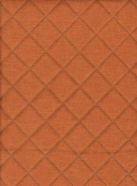 Dekorstoff-Moskau-Terracotta meliert