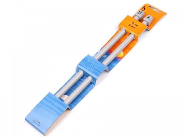 Stricknadeln-2 Stück-35 cm Länge-12 mm Durchmesser