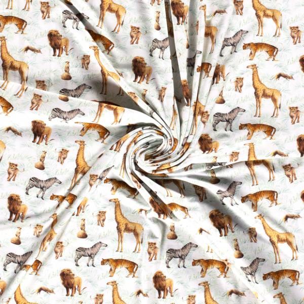 Jersey-Exotische Tiere-Grauweiss
