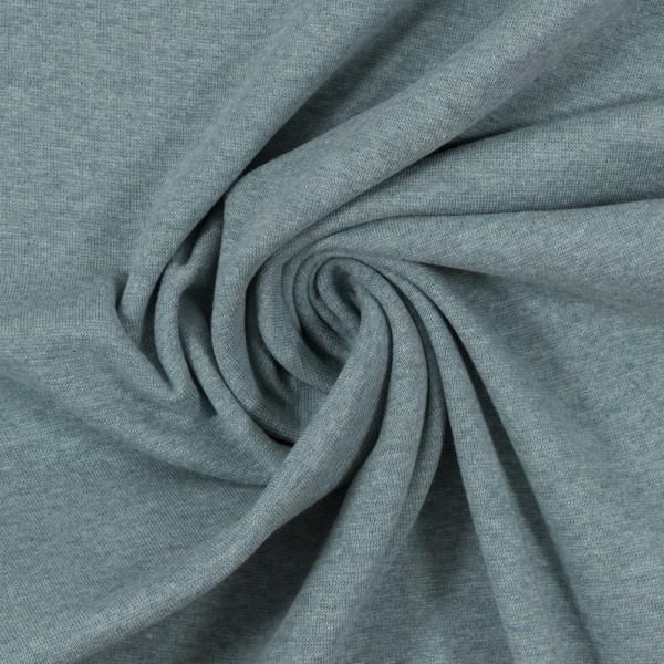 Bündchen-Heike melange-48er Schlauch-Rauchblau