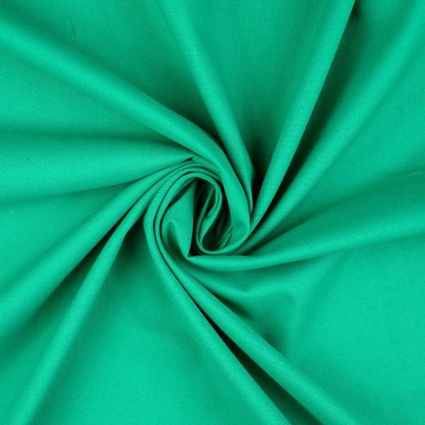 Baumwolle-Fahnentuch-Petra-Blattgrün