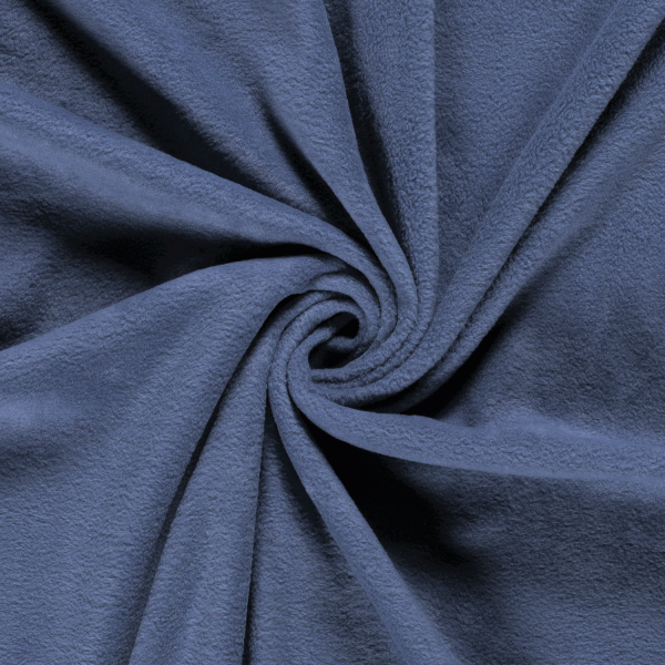 Microfleece-Max-Jeansblau