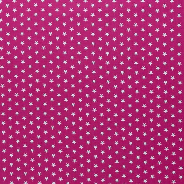 Baumwolle-Carrie-Sterne-Pink