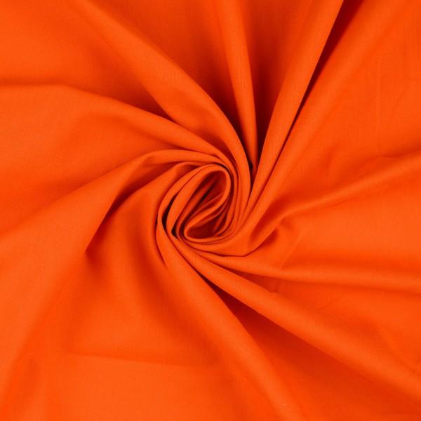 Baumwolle-Fahnentuch-Petra-Orange