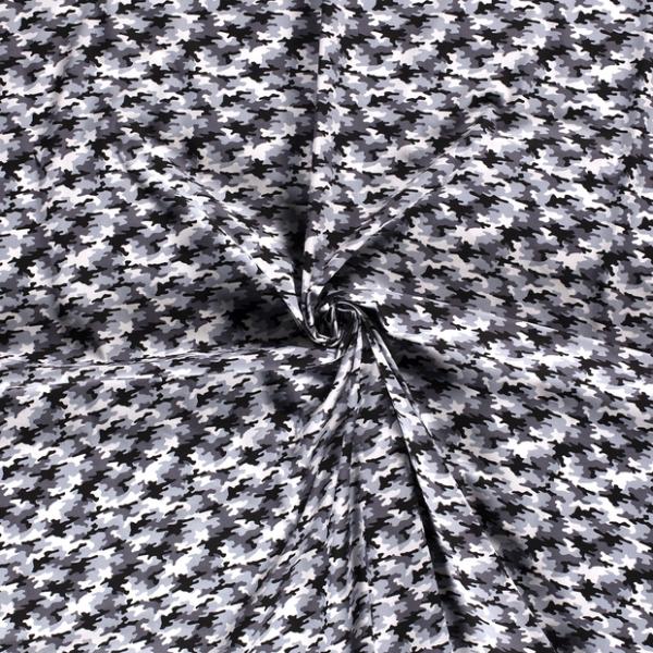 Baumwolle-Camouflage-Grau