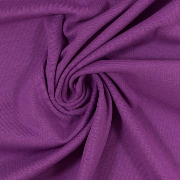 Bündchen-Heike-50er Schlauch-glatt-Violett