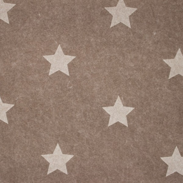 3,0 mm Filz-Stars-90 cm breit-Helle Taupe