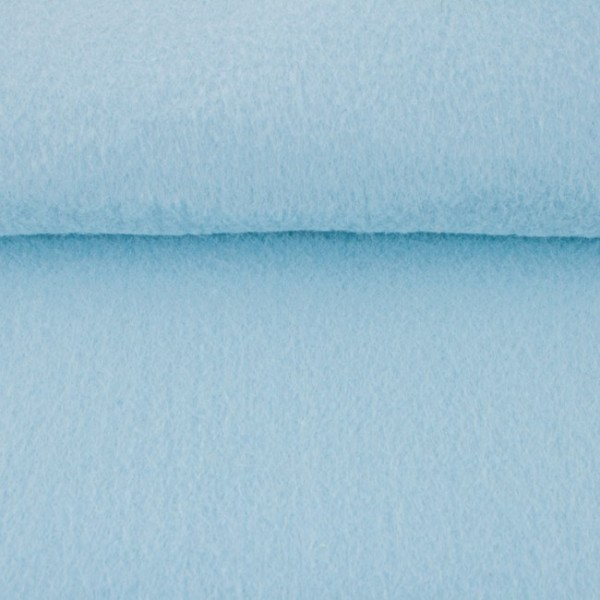 5,0 mm Filz-Carsten-22 cm x 25 cm Platten-Babyblau