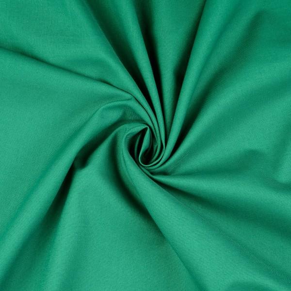 Baumwolle-Fahnentuch-Petra-Tannengrün