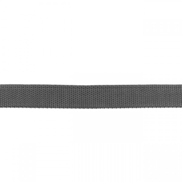Gurtband-25 mm-Polypropylen-Anthrazit