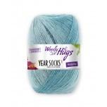 Wolly Hugs-Years Sock- Verlaufsgarn-August