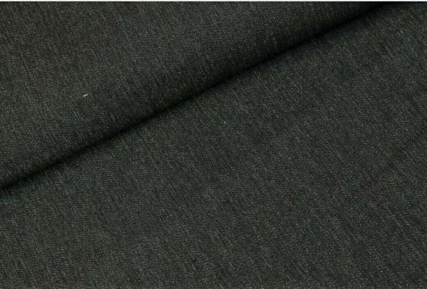 Jeansstoff-12 ounce-Schwarz