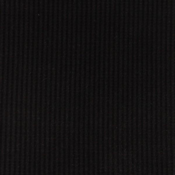 Waffel-Jersey-Snoozy-Schwarz