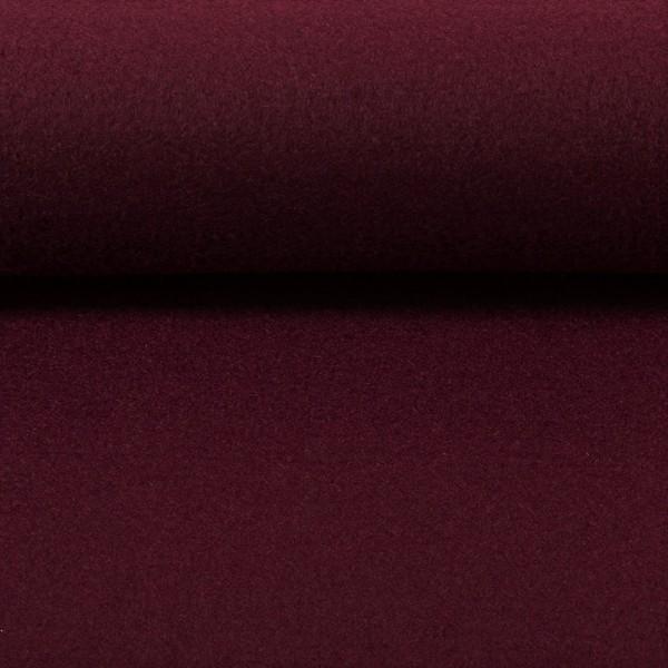 5,0 mm Filz-Carsten-22 cm x 25 cm Platten-Bordeaux