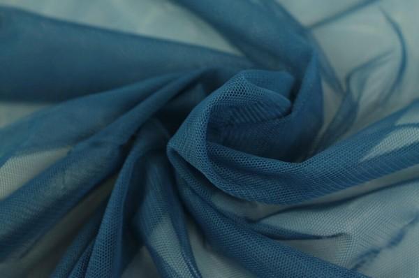 Tüll-Uwe-Softmesh-Jeansblau