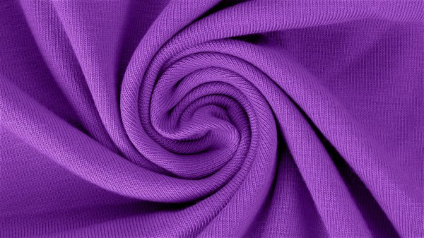 Jersey-Yara-Halbe Breite-Violett