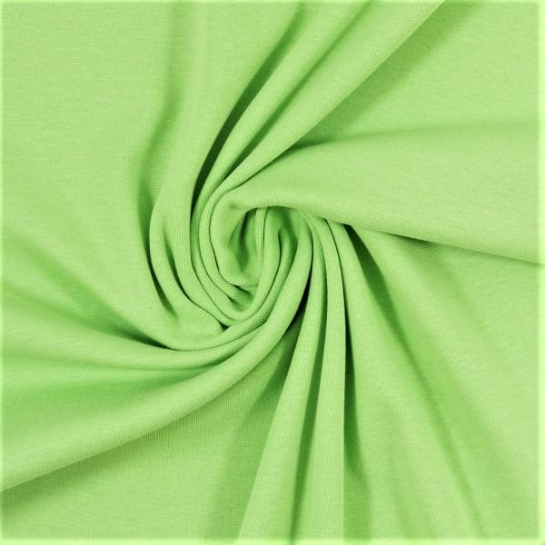 Bündchen-Heike-50er Schlauch-glatt-Hellgrün