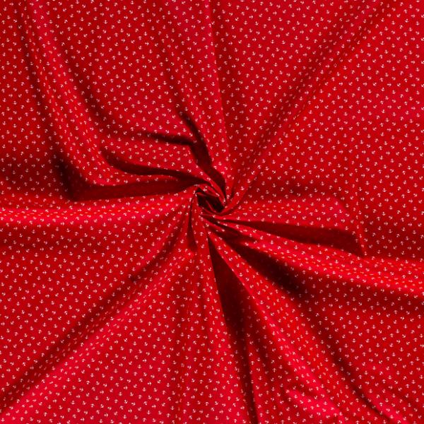 Baumwolle-Anker-Rot