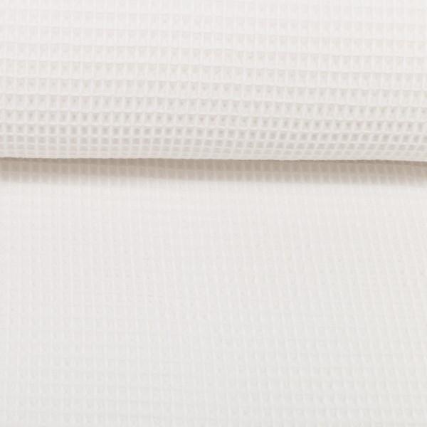 Waffelpique-Nelson-fein-Weiss