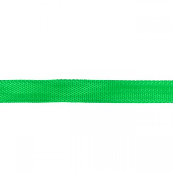 Gurtband-25 mm-Polypropylen-Grasgrün