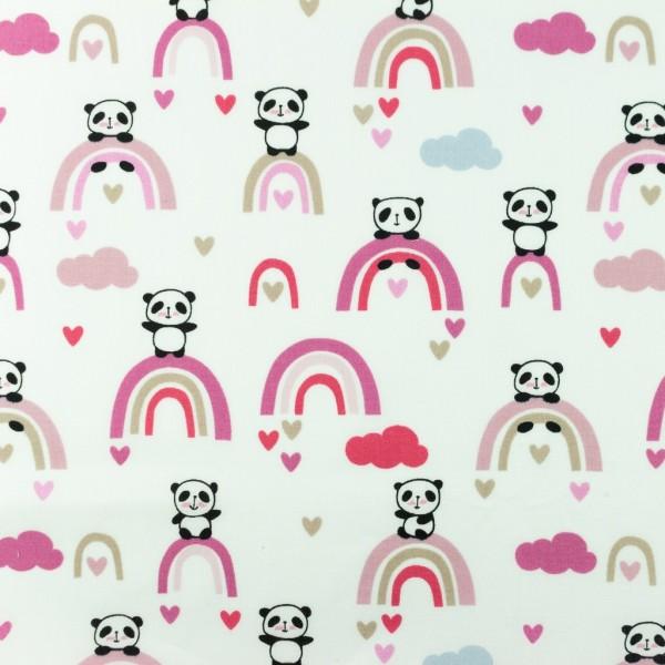 Baumwolle-Panda-Altrosa