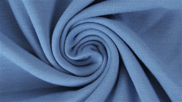 Jersey-Yara-Halbe Breite-Jeansblau