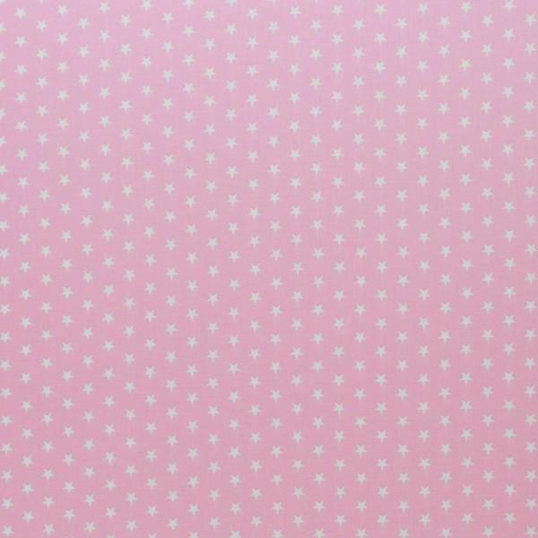 Baumwolle-Carrie-Sterne-Zartrosa