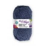 Woolly Hugs-Frottee-Blau